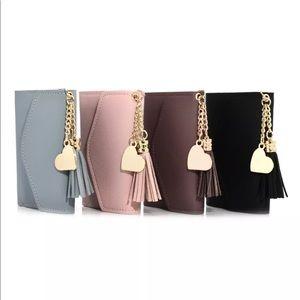 Handbags - New Item✨ Heart Tassel Mini Wallet 💕✨